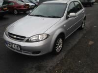 Chevrolet Lacetti SX Genuine Low miles excellent example hpi clear