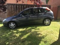 FORD FOCUS ZETEC 1.6, PETROL, 5 DOOR HATCHBACK