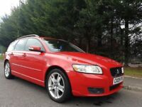 MAY 2009 VOLVO V50 SE D DRIVE 1.6 DIESEL ESTATE MOT MARCH 2019 FULL SERVICE HISTORY GREAT EXAMPLE !
