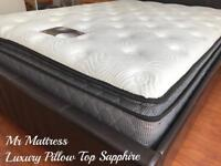 🏆🏆 12 INCH DEEP ~ HOTEL PILLOW TOP ~ FULL POCKET SPRUNG SUMPTUOUS ORTHOPAEDIC MATTRESSES