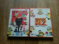 Despicable me 1 and 2 dvd