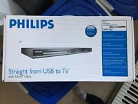 Philips DVPS 160 DVD USB Audio / Video player