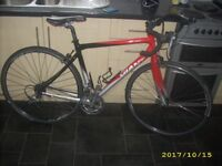 Giant SCR 3 Triple Road Racing Triathlon Winter Student Bike Medium Size Excellent Condition