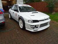 1995 Subaru Impreza STI Type RA Race Track Car