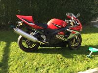 Suzuki GSXR 600 Limited Edition Very Low Mileage Full Service History