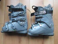 Head Used Edge 9.0 Grey Ski Boots