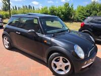 MINI HATCH ONE AUTOMATIC 2002 MOT TILL JANUARY 2019 FSH 2 KEYS