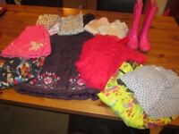 Girl's clothes bundle - 5 years old (13 items)