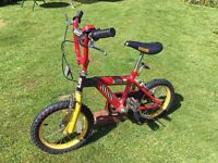 Tonka bicycle for children