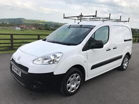 Peugeot partner 625 se l1 hdi, 2014 (14) reg, full mot, 3 seater, in white, no vat