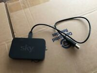 SKY WIRELESS WIFI CONNECTOR SD501 ANYTIME TV ON DEMAND FOR SKY HD BOX