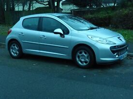 Peugeot 5 door silver Sport in very clean Tidy condition