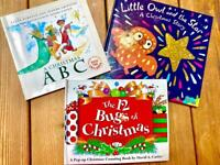 Set of 3 children's Christmas Books pre school