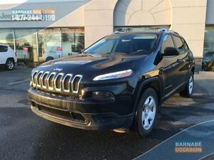 2014 Jeep Cherokee Sport - 4X4 - 58$/semaines - Attache Remorque