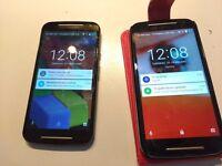 Motorola Moto G2 Android Smartphone (X2)