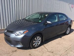 2016 Toyota Corolla LE AWESOME LOW KM SEDAN WITH GREAT FUEL E...