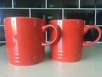 Le Creuset large mugs