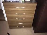 Chest of drawer with vanity mirror £70 ONLY