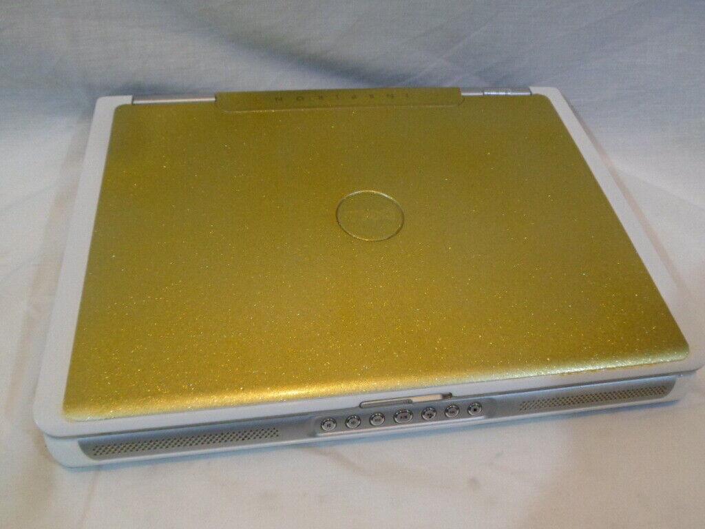 Laptop Windows -  gold top  dell 6400 Laptop windows 10