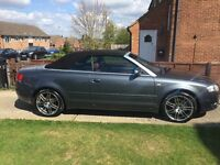 Audi A4 Convertible, Red Leather, Good Condition, Low Mileage!!
