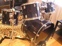 Yamaha Stage Custom Advantage drum kit/hardware/cymbals