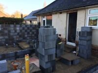 Bricklayer looking for weekend work . Its all about the bricks