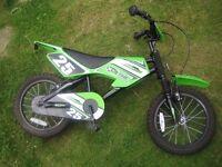 "Halfords Childs Bike MXR 750 - 16"""