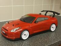 MAVERICK STRADA 1/10 SCALE BRUSHLESS RC TOURING CAR,FAST,NISSAN R35,2.4GHZ,LIPO,HSP