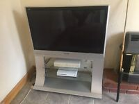 Panasonic Viera silver TV with stand - 42 inch