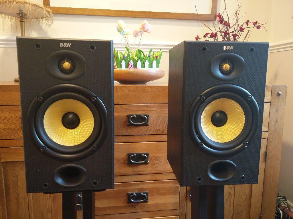 speakers in target. bowers\u0026wilkins b\u0026w dm601 speakers (pair) with target hr stands in