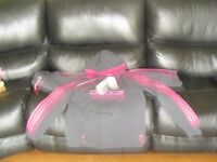 ADIDAS TRACKSUIT GREY AND PINK NEW WITH TAGS size 16