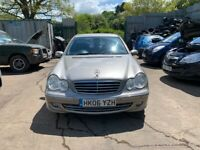 2006 Mercedes C220 CDI Avantgde SE A Diesel Silver BREAKING FOR SPARES