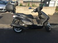 Yamaha Cygnus 125cc moped scooter *very low mileage* *12 months MOT*