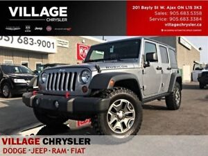 2013 Jeep WRANGLER UNLIMITED Rubicon Leather,Nav,Dual Tops,Tow P