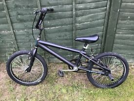 BLACK MATT BMX BIKE