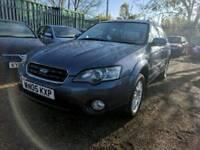 Subaru Legacy Outback - Auto - Top Spec - History