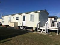 8 berth caravan 2 x bathrooms one bath and one shower