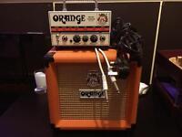 Orange Micro Terror Head & 1 x 8 Cab