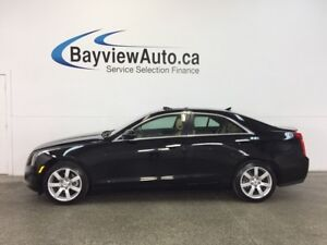 2013 Cadillac ATS - 2.5L|SUNROOF|HTD LTHR|REV CAM|BOSE|ON STAR!