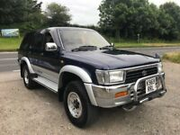 TOYOTA HILUX SURF 2.4 TD MANUAL BLUE/SILVER 1993