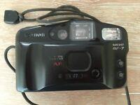 Pentax ESPIO 140v / Canon Sureshot AF7 Cameras with cases