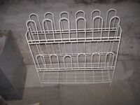 Shoe rack, storage holds 15 pairs of shoes, very efficient