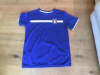 Italy Dryfit football shirt