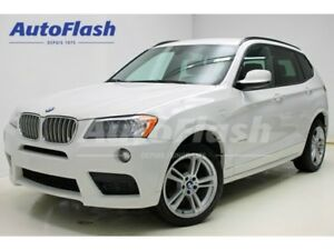 2014 BMW X3 3.0L Turbo *M-Sport-Package *Premium *Extra-Clean!