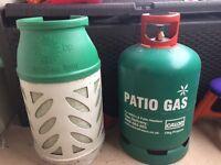 2 gas bottles