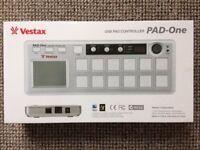 Vestax PAD one drum pads MIDI controller