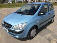 HYUNDAI GETZ 1.1 GSi 3door 2009(58reg) MOT June 2018. Ideal first car for younger drivers