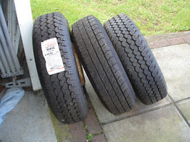 Ford Transit wheels with 185xr14c tyres.