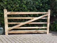 Garden Driveway Gate 7 Foot Handmade New
