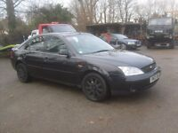 FORD MONDEO 2.0 ZETEC O3 REG MOT FEB 2017, TIDY FOR AGE TOW HITCH AND ELECTRICS DRIVES SUPERB,,,